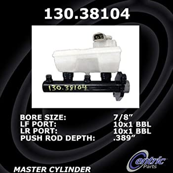 Centric Premium Brake Master Cylinder 130.38104
