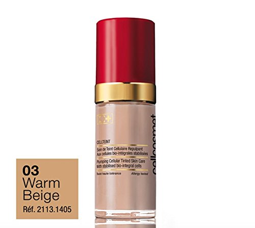 (Cellcosmet CellTeint Plumping Cellular Tinted Skin Care 30 ml - Warm Beige)