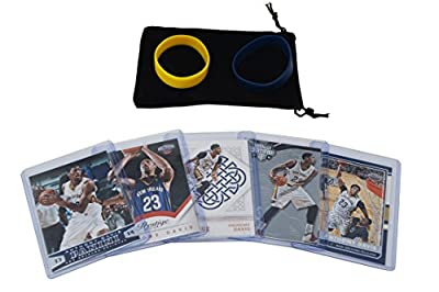 Anthony Davis Basketball Cards Assorted (5) Bundle - New Orleans Pelicans Trading Cards