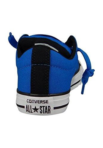 Converse 656010c Ctas Street Slip - Mocasines de lino para niño Mittelblau