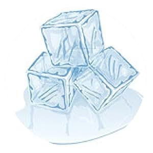 alfombrilla de ratón pila de cubos de hielo - ronda - 20cm