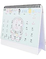 VORCOOL 2022 Desktop Calendar 12 Monthly Calendar Desk Schedule Book Planner Calendar Cartoon Agenda Organizer Schedule Planner for Home