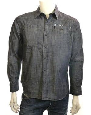 G Star RAW Ceder Border Shirt L/S, RAW, Size L $150