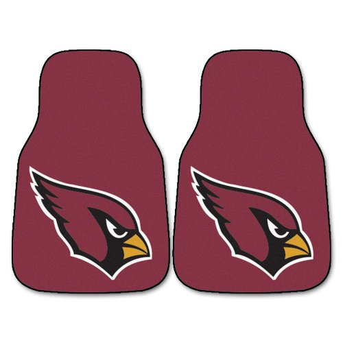 (FANMATS NFL Arizona Cardinals Nylon Face Carpet Car Mat)