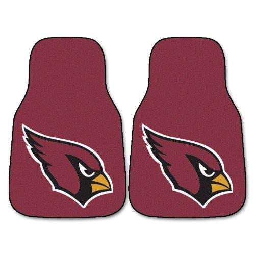- FANMATS NFL Arizona Cardinals Nylon Face Carpet Car Mat