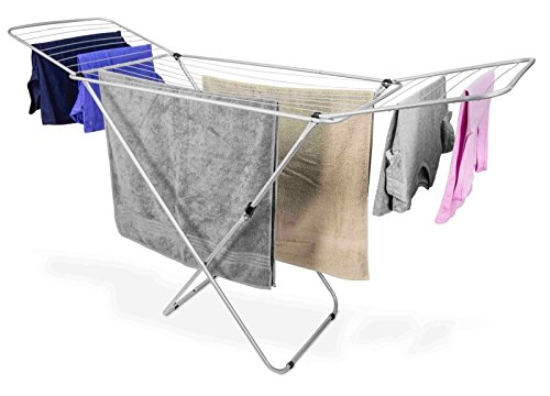 Foldable Clothes Drying Rack – Freestanding Collapsible La