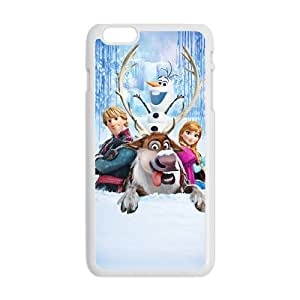 Frozen Princess Anna Kristoff Olaf Sven Cell Phone Case for Iphone 6 Plus