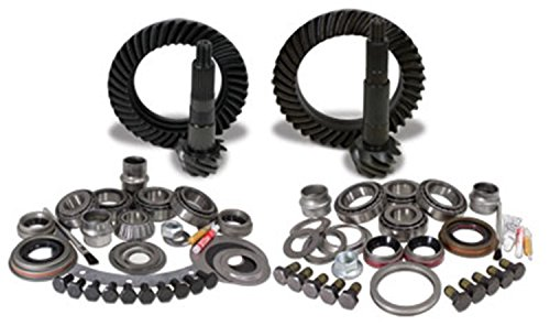 Yukon Gear YGK056  Gear and Install Kit Package for Jeep JK Rubicon, 4.11 Ratio