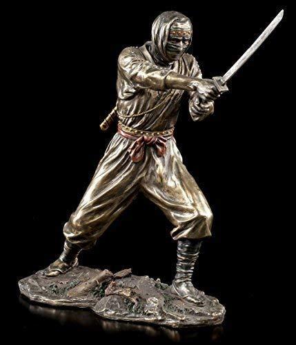 Ninja Guerrero Figura con Katana Veronese Estatua Guerrero ...