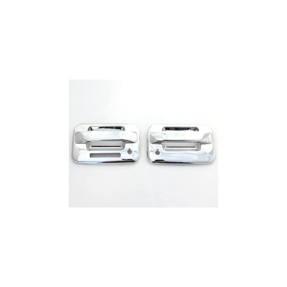 04 12 Ford F 150 (2 Doors) Chrome Door Handle Covers with keypad & psg keyhole