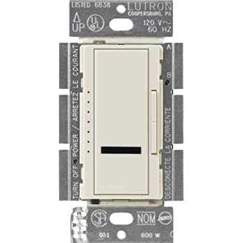 Lutron MIR-600M-LA 600-Watt Maestro IR Multi-Location Dimmer,