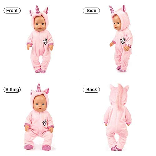 Amazon.es: Disfraz de Unicornio Bebe, Baby Born Onesie Unicorn ...