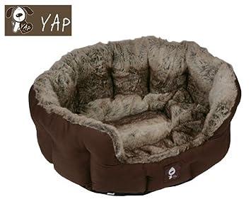 YAP de perro lyón cama para Oval 86,36 cm Pets camas de ...