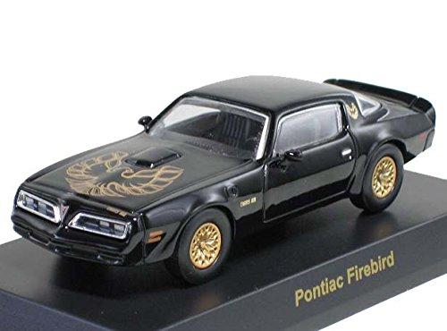 京商 1/64 USAスポーツカー  ミニカーコレクション1  ポンティアック ファイアーバード トランザム  イーグルマスク 1977 黒 B01001CB9G