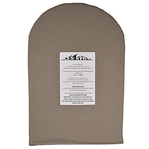 Bulletproof Backpack Panel| NIJ Level 3a (IIIA) Ballistic Backpack Insert| Woven Kevelar ,Ballistic Panel| Backpack Shield| Tan, 17