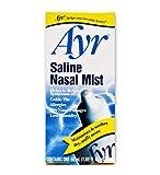 Ayr Saline Nasal Mist, 1.69-Ounce Spray Bottles (Pack of 6)