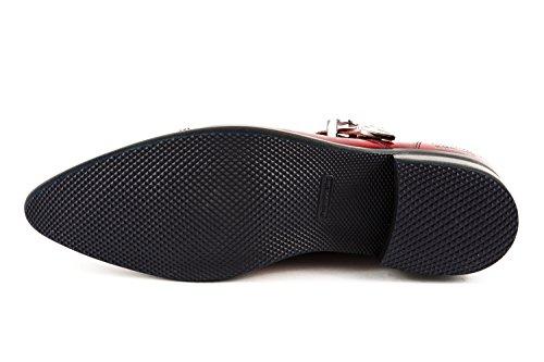 Melvin Chaussures Rouge 208 Rot À amp; Pour Ville Hamilton Eu Mh15 41 De Homme Lacets qRIPpxRr4w