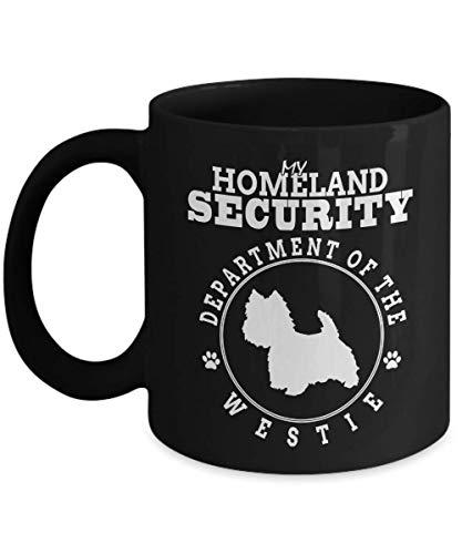 Westie Dad Mug, Funny Westie Mug For Men, Westie Coffee Mug For Westie Lovers, Terrier Mug For Dog Lovers, Cairn Terrier Gift Mug For Men ()