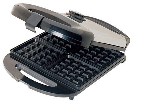 VillaWare V5800 Moderno Classic 4-Square Waffle Maker