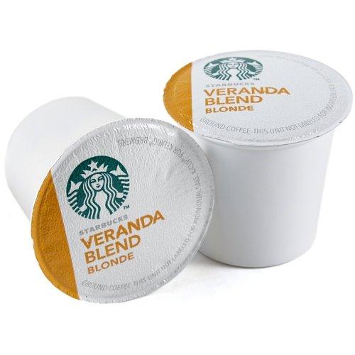 Starbucks Veranda Blend Blonde, K-Cup for Keurig Brewers, 160 Count by Starbucks (Image #1)