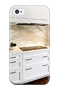 CmVTOQu25909TfQZz Faddish Oversized White Oven Hood With Marble Backsplash Case Cover For Iphone 4/4s
