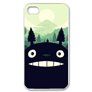 ANCASE Custom Color Printing Totoro Phone Case For Iphone 4/4s [Pattern-5]