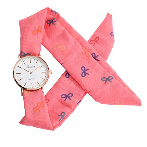 - Women's Weekender 31mm Watch,Londony ✡ Sweet Girl Bracelet Watch Ladies Dress Watch Fashion Flower Cloth Design Watch