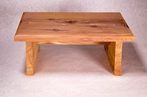 New Strong Wooden Small Wood Step Stool Made In Usa Made