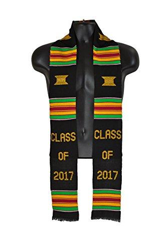 Kente Stole Class of 2017 Cloth Graduation Sash