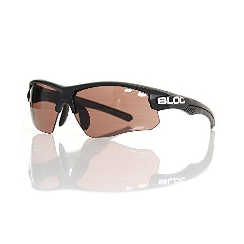 Titan Sunglasses - Matt Black - Vermilion Lens