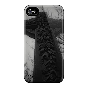 Popular AMGake New Style Durable Iphone 4/4s Case (aPgbdIG7254HSVEL)
