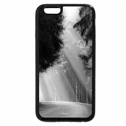 iPhone 6S Plus Case, iPhone 6 Plus Case (Black & White) - Rays of spring