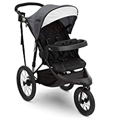 """Turn any day into an adventure with the Jeep Classic Jogging Stroller. Perfect for daily errands or runs in the park, this versatile jogger can be used as standard jogging stroller or as a travel system with your infant car seat (car seat so..."