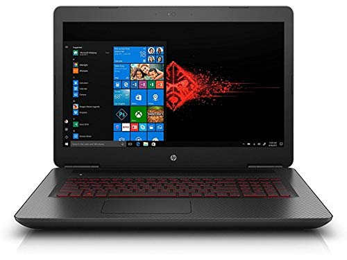 "HP Omen 17.3"" Gaming Laptop, Full-HD Display, Intel Core i7-7700HQ Quad-Core, NVIDIA GTX1070 8GB, 16GB DDR4, 1TB HDD + 128GB PCIe, Bluetooth, Win10H (Certified Refurbished)"