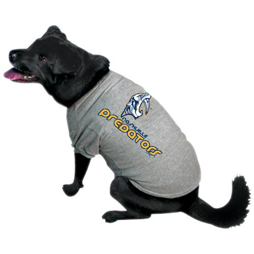 Hunter Mfg. LLP NHL Nashville Predators Pet T-Shirt, Team Color, Large