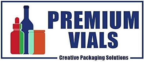 salsa picante vinagre Premium Vials Botellas con tapas rojas y tapas de goteo para salsa salsa de pimienta 24 Paquete pimienta
