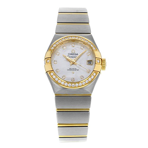 Omega-Constellation-12325272055003-18K-Yellow-Gold-and-Steel-Automatic-Ladies-Watch