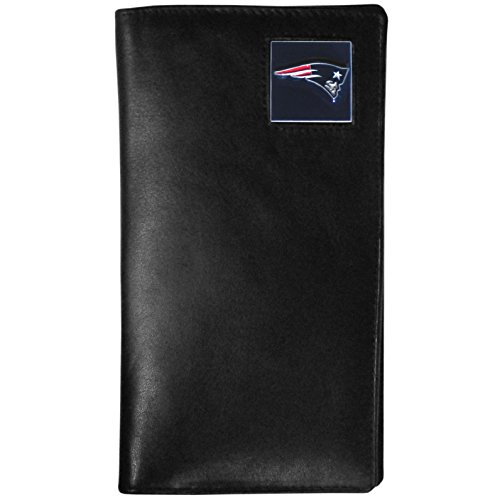 NFL New England Patriots Tall Leather Wallet