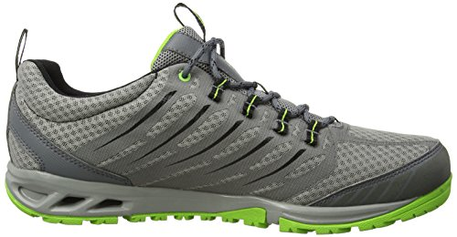 ColumbiaVentrailia Razor Outdry - Zapatos de senderismo hombre Multicolor (Light Grey/Nuclear)