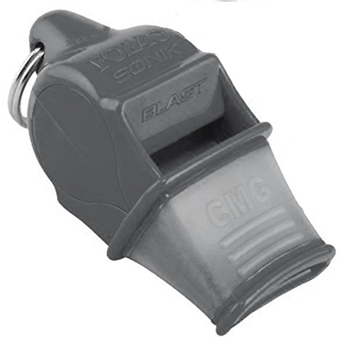 Fox 40 Sonik Blast CMG Official Whistle SILVER