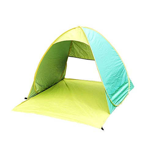 Tent Outdoor Awning UV Protection Waterproof Folding 2 Person Ultra Light Portable Small Tent, Suitable for Family Garden/Camping/Fishing/Beach