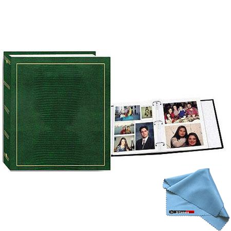 Pioneer LM-100 100 Page Magnetic 3-Ring Photo Album (12-Pack) Hunter Green