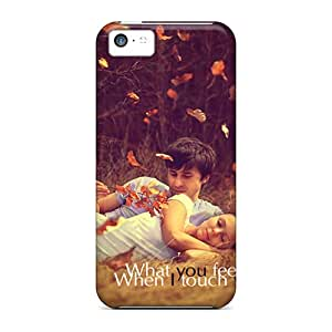 Iphone Covers Cases - When I Touch You Protective Cases Compatibel With Iphone 5c