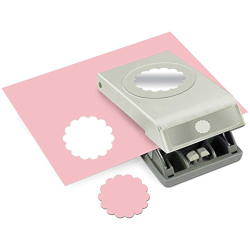 Price comparison product image EK Tools 2-Inch Circle Paper Punch,  Large,  Scallop,  New Package