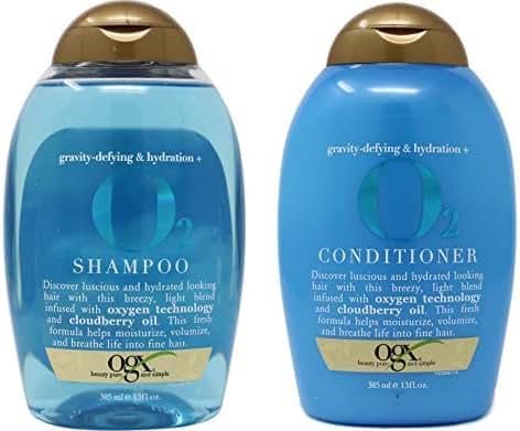 Shampoo & Conditioner: OGX O2