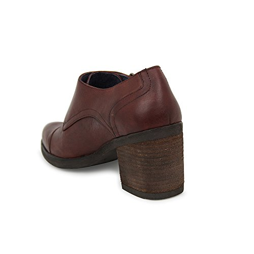 Zapato Abotinado Burdeos Marion Piel En d0q0waxg