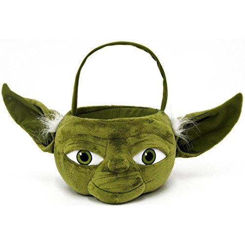 Star Wars Yoda Plush Basket, Medium