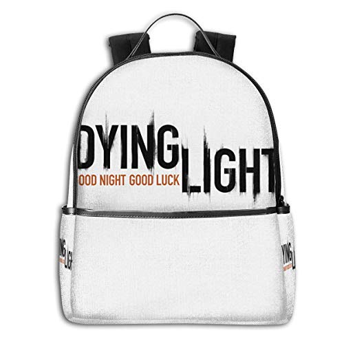 Price comparison product image Dying Light Funny Backpacks Laptop Book Bag Casual Durable Backpack Lightweight Travel Pack For Men Women