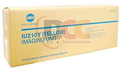 Genuine Konica Minolta IU210Y Yellow Imaging Unit for Bizhub C250 C252