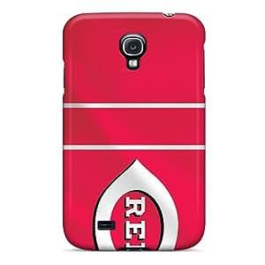 High Quality Hard Phone Case For Samsung Galaxy S4 (jFn8654Pulg) Customized Lifelike Cincinnati Reds Pattern